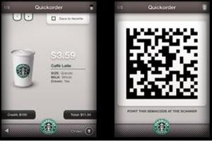 5 - QR code Starbucks