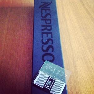 puce RFID nespresso